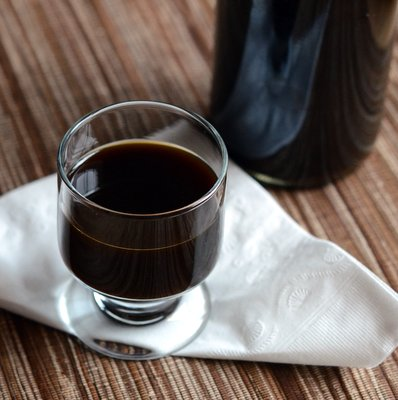 Homemade Vanilla Coffee Liquor