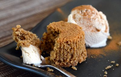 Hazelnut, Coffee and Cinnamon Cakes