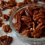 Sweet & Spicy Orange Glazed Pecans
