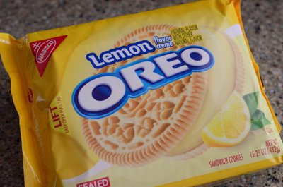Lemon Oreos