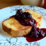 Toasted Pound Cake with Quick Berry Compote