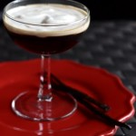 Espresso Martini with Vanilla Bean Whipped Cream