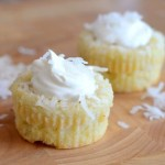Impossible Coconut Custard Pie Cupcakes
