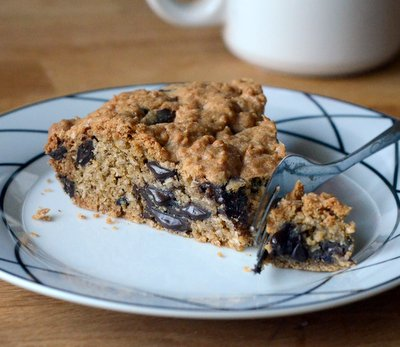 Oatmeal Chocolate Chunk Cookie Pie