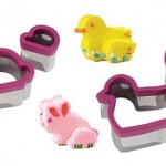 Bunny and Chick Stand Up Cutters