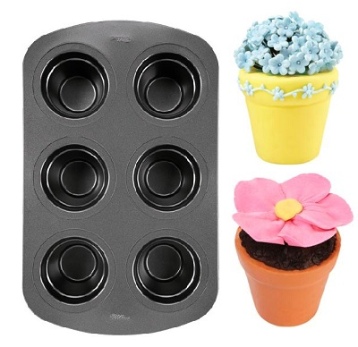 Wilton Mini Flower Pot Cake Pan