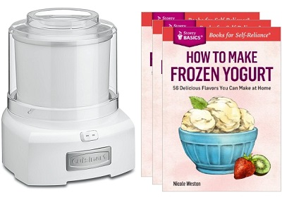 How to Make Frozen Yogurt Cookbook Release and Giveaway!