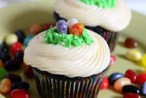 Make Your Own Easter Egg Nest Cupcake Toppers