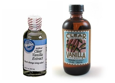 Clear Vanilla Extract