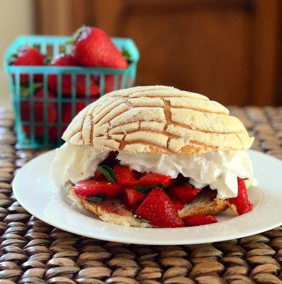 Strawberry, Mint and Lime Shortcakes