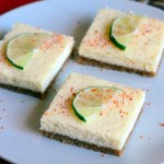 Margarita Cheesecake Bars