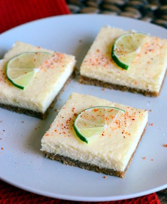 Margarita Cheesecake Bars - Baking Bites