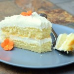 Vanilla Hot Milk Sponge Cake