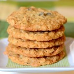 Chewy Coconut Oatmeal Raisin Cookies