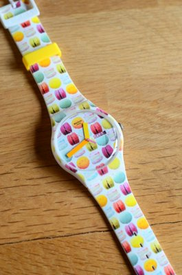 Swatch Pastry Chef Collection: Macaron Watch