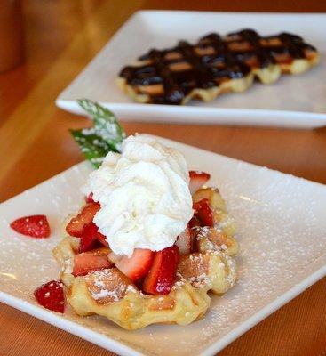 Panera Liege Waffles