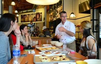 Tom Gumpel and Bloggers and Panera Bread Small Batch Bakery
