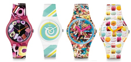Collection Swatch Watches Swatch Pastry Chef Collection
