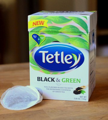 Tetley Black & Green Tea