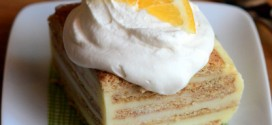 Lemonade Icebox Cake