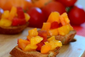 Tomato and Garlic Bruschetta
