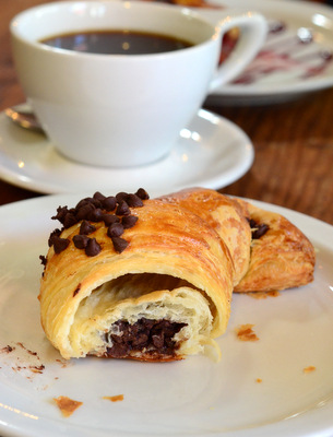 Republic of Pie Chocolate Croissant