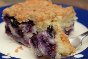 Buttermilk Blueberry Buckle