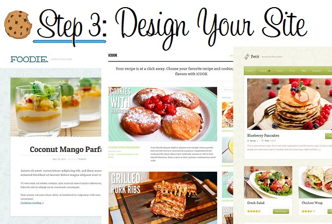 Step 3: Design Your Site