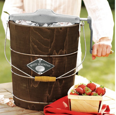 White Mountain Ice Cream Maker