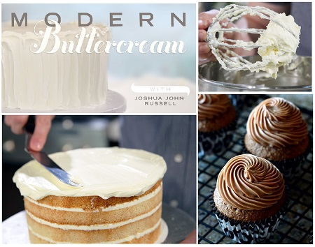 Free Craftsy Class: Modern Buttercream