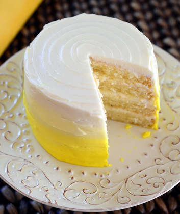 Mini Lemon Layer Cake