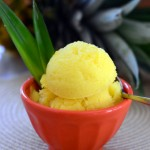 Fresh Pineapple Sorbet