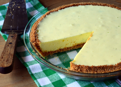 Key Lime Chiffon Pie