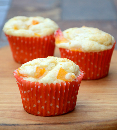 Peaches n' Cream Muffins