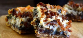 Maple Bacon Magic Bars