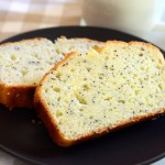 Greek Yogurt Lemon Poppyseed Loaf Cake