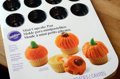 Wilton Mini Pumpkin Cupcake Pan