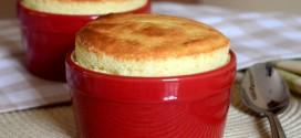 Vanilla Bean Ricotta Cheesecake Souffles