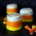 Candy Corn Mini Cakes