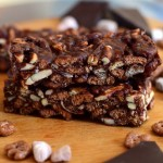 Salted Dark Chocolate Count Chocula Bars