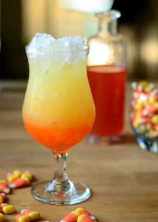 Candy Corn Pineapple Punch