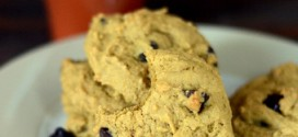 Low Fat Chewy Pumpkin Chocolate Chip Cookies