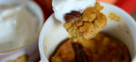 5 Minute Pumpkin Bread Pudding in a Mug
