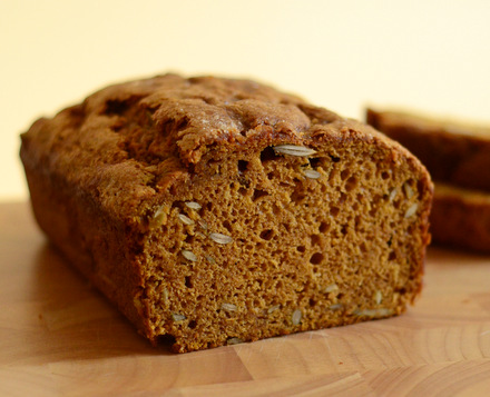One Bowl Pumpkin Bread