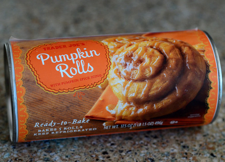 Trader Joe's Pumpkin Rolls, reviewed