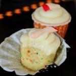 Halloween Confetti Cupcakes