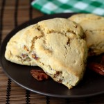 Sweet and Spicy Maple Pecan Scones