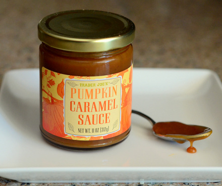 Trader Joe's Pumpkin Caramel Sauce, reviewed