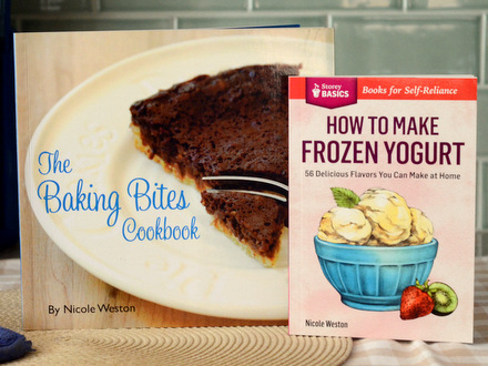 Baking Bites Cookbook and How to Make Frozen Yogurt