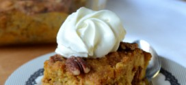 Baking Bites for Craftsy: Pumpkin Pecan Bread Pudding